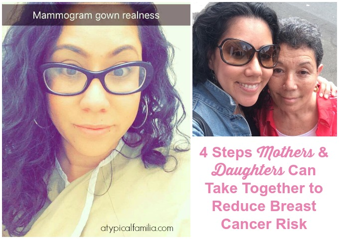Mother Daughter Reduce Breast Cancer Risk via Atypical Familia by Lisa Quinones Fontanez