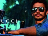 James Franco shows his love for Gucci sunglasses in new campaign
