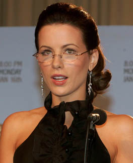 Actress Kate Beckinsale Golden Globe Award nominations