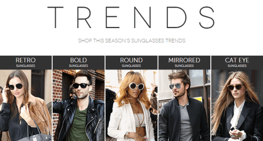 Shop the Sunglasses Trends