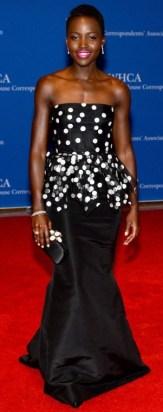 Nupita Nyongo Oscar de la Renta