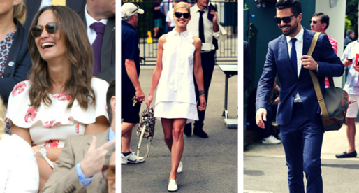 Celebrity Outfits At Wimbledon 2016