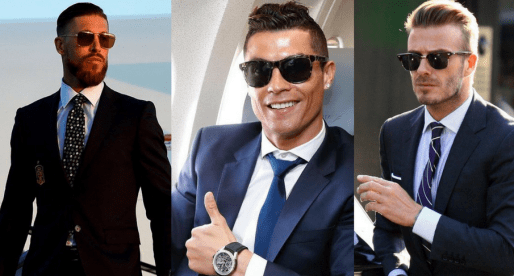Stylish Sunglasses & Famous Football Players
