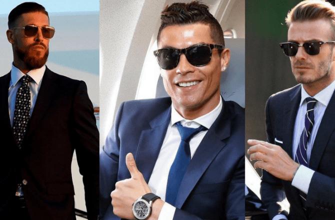 Stylish Sunglasses & Famous Football Players