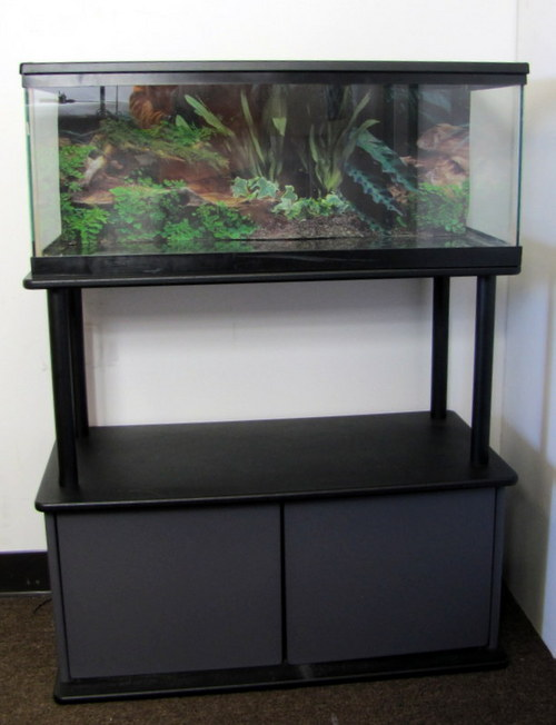 how to build stacked 90 gallon aquarium stand