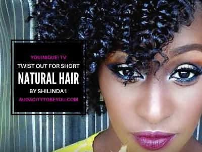 twist for short natural hair