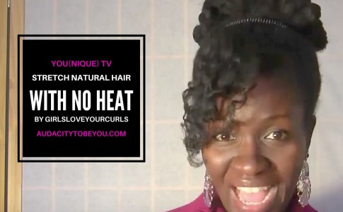 STRETCH HAIR WITH NO HEAT