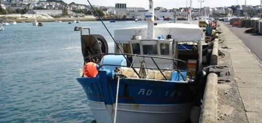 Bruno-Gaelle, bateau de pêche du port d'Audierne