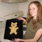 The first year we made groundhog rice krispy treats.
