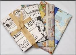 newspaperwrapping