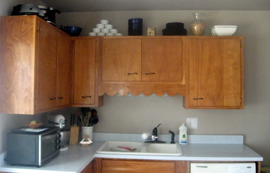 The cupboards after.