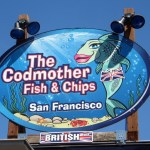 We picked up some delicious deep fried fish from a friendly British lady.