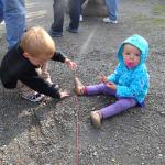 We were afraid the gravel was going to be the kids favorite part of Denali.