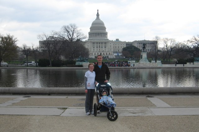 2011 - During our month long stint in DC.