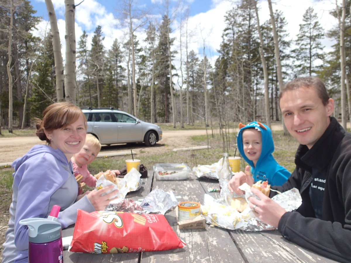 A family picnic on Memorial Day when the rains had finally abated for significant periods of time.