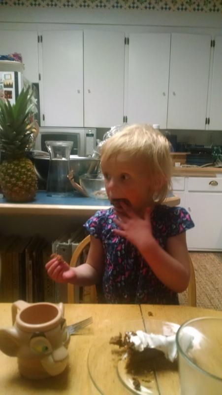 Ellen's take on the cake.