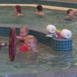 The kids started swim lessons. Ellen is part fish and Cooper has come a long way from the days he was petrified of the water.