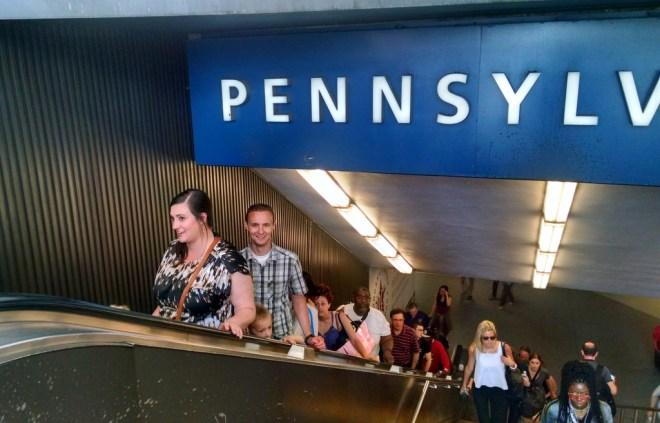 Penn Station.
