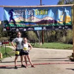 Noel and I at the starting line.