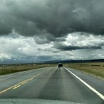 Ominous skies on our trip to New Mexico.