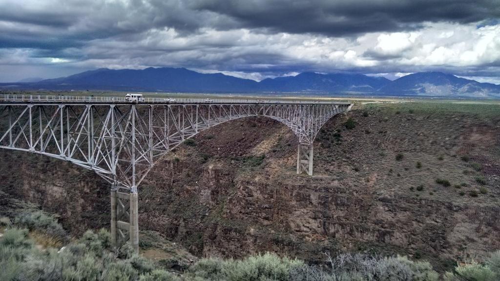 Rio Grande Gorge Bridge in New Mexico.
