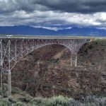 Rio Grande Gorge Bridge in New Mexico.
