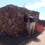 Agate House at Petrified Forest National Park.
