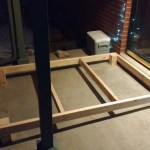 This ramp was perfectly custom designed for our porch. Noel accounted for the slope of everything to make it level.