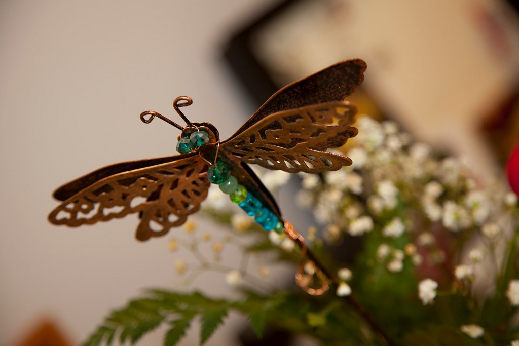 Glenna had a thing about dragonflies. I'll have to do a post about that some day :)