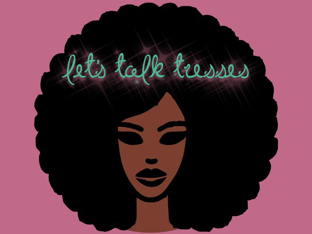 Lets Talk Tresses Logo