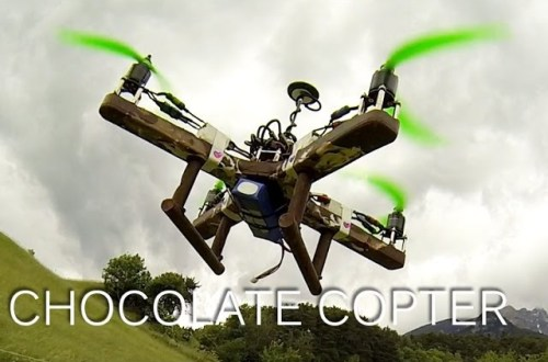 chocolate-quadrocopter