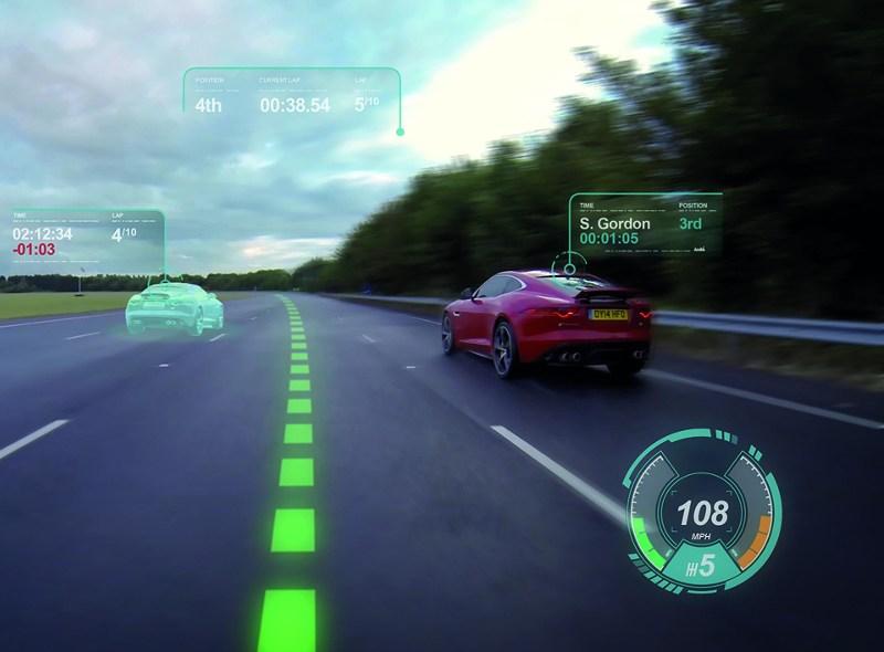 Augmented reality w samochodzie
