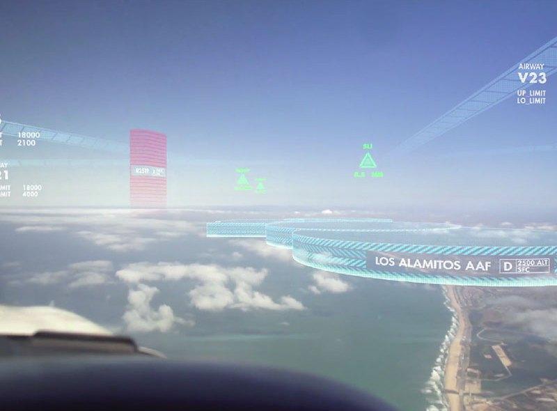 Augmented reality dla pilotów dzięki Aero Glass
