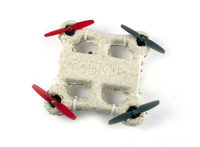 Dron zrobiony z… grzybów