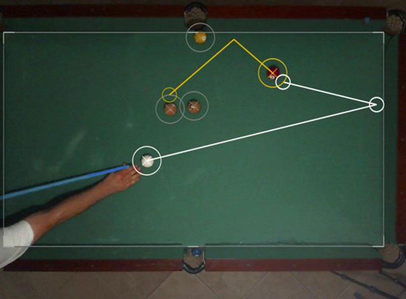 Snooker z augmented reality