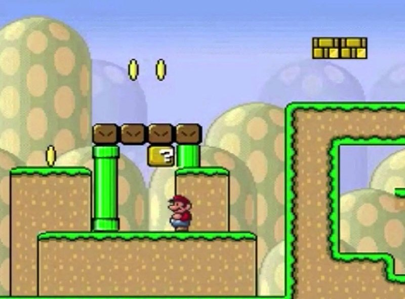 Mario, który nauczył się grać w Mario