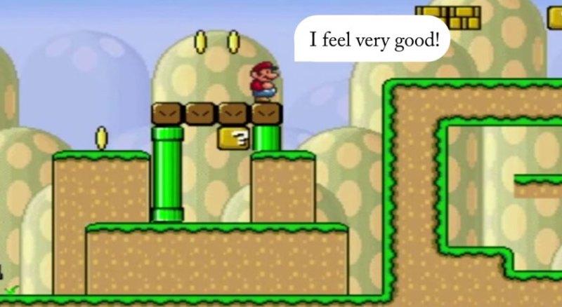 Mario AI mówi!