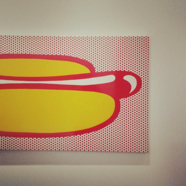 Lichtenstein_hotdog