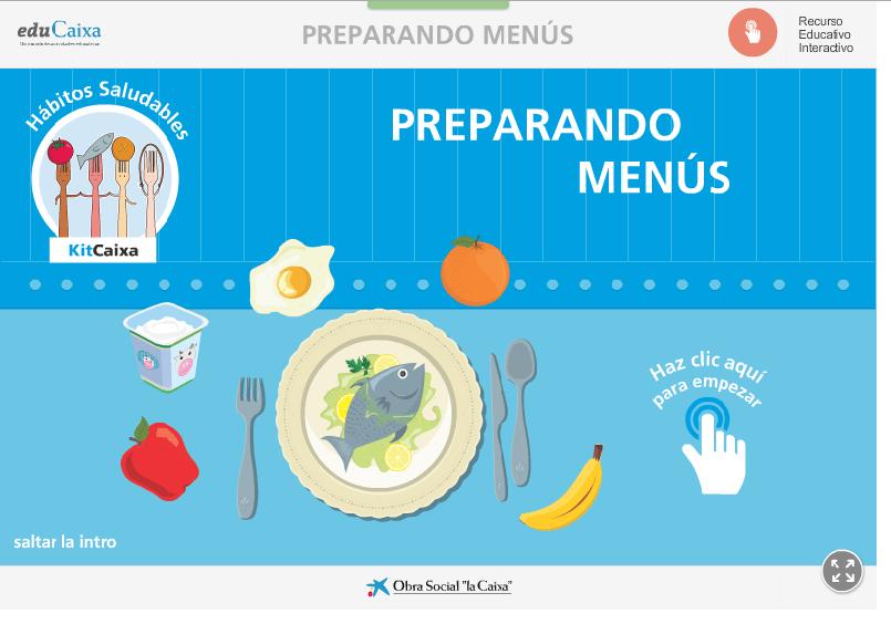 PREPARANDO MENÚS