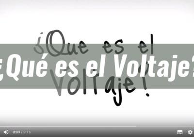 ¿Qué es Voltaje?