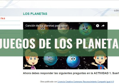 Juegos de Los Planetas