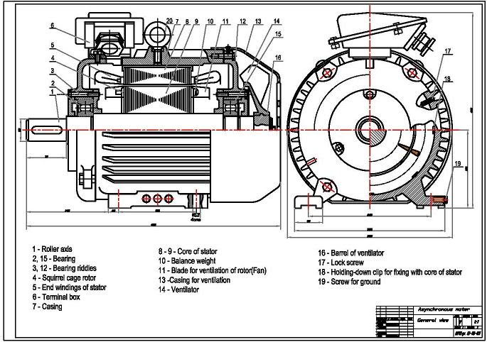 inductionmotor2  Sd Single Phase Ac Motor Wiring Diagram on