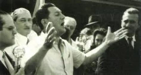Perón hablando