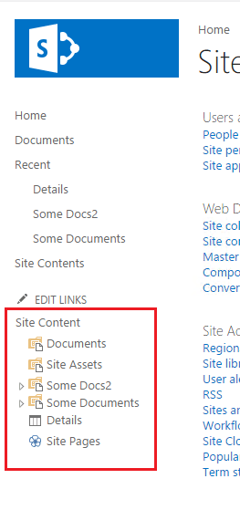how to create library item sharepoint 2016