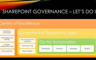 SharePoint Governance Tips