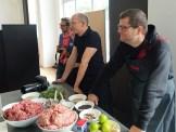 Gut gelaunte Blogger bei der AEG Taste Academy