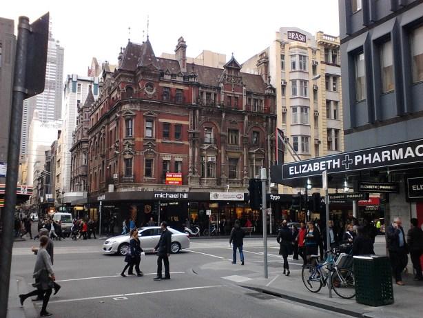 Overcast Melbourne