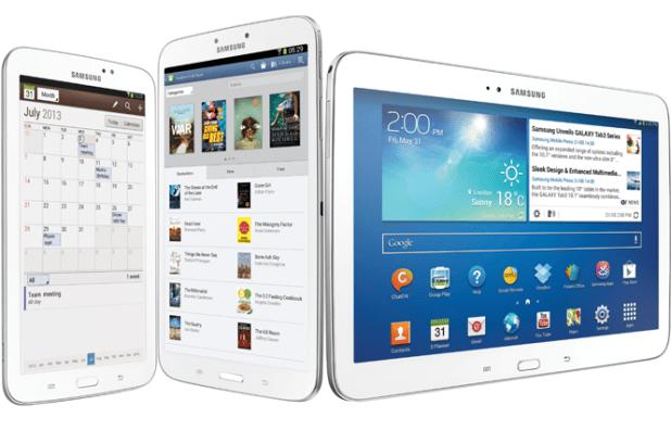 Galaxy Tab 3 range
