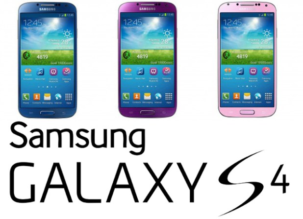 Galaxy S4 Colours