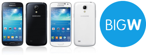 Samsung Galaxy S4 Mini & Big W